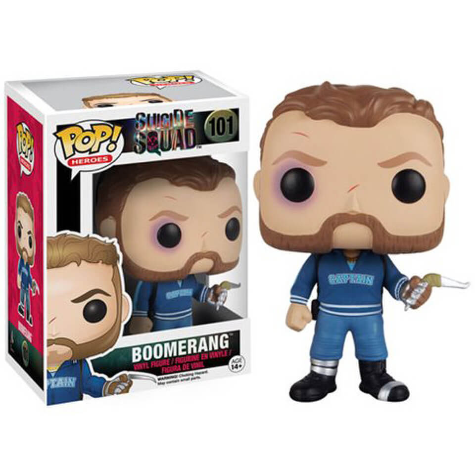 Figurine Funko Pop Suicide Squad Boomerang Pop In A Box