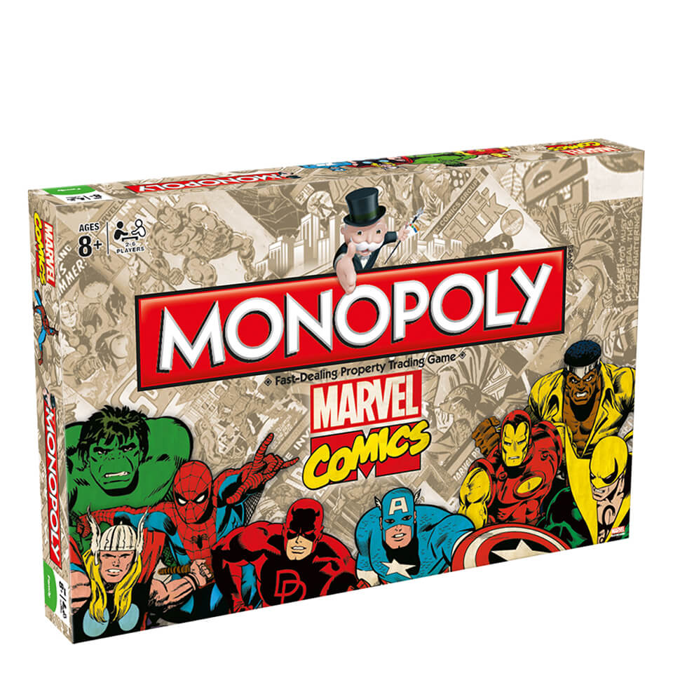 monopoly-marvel-comics-retro-edition