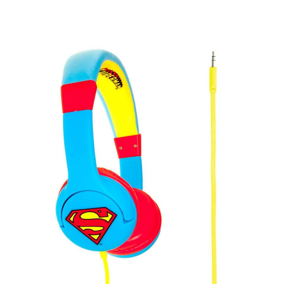 Superman Children's On Ear Headphones