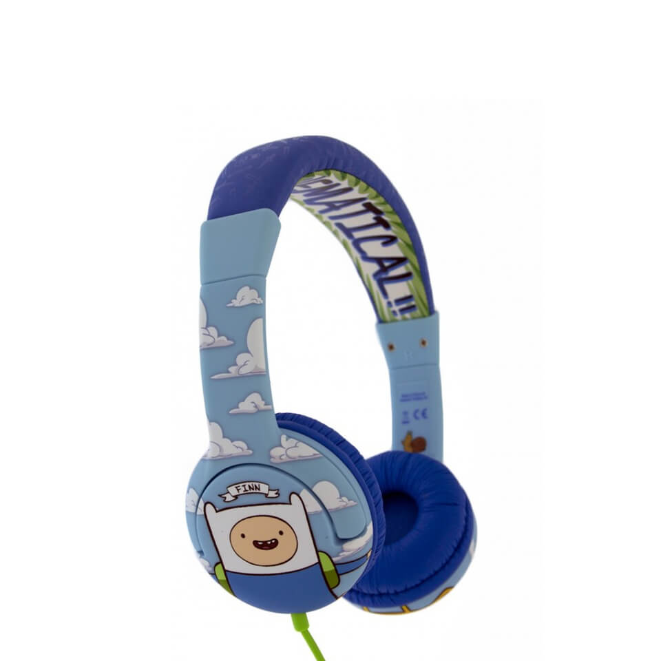 Adventure Time Jake and Finn Mathematical Children's On-Ear Headphones