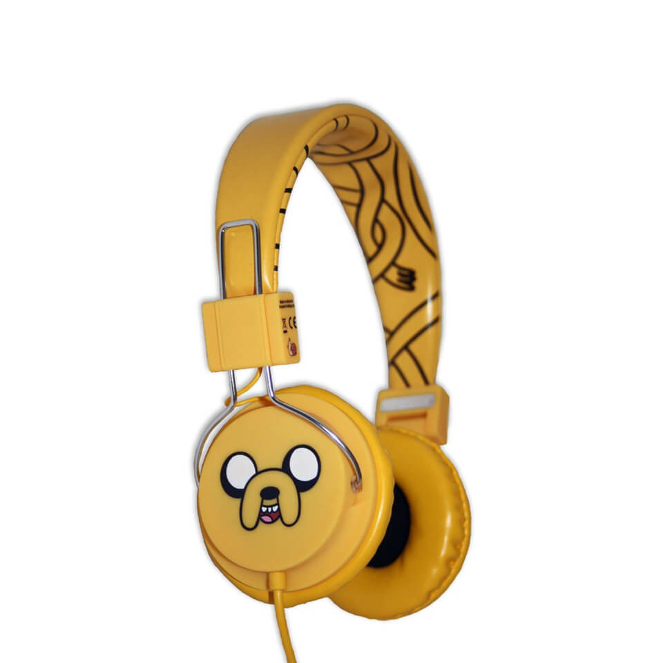 Adventure Time Jake and Finn Jake The Dog Folding On-Ear Headphones