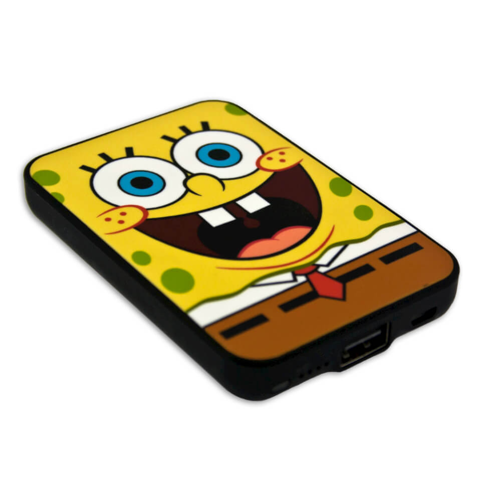 Batería Externa Power Bank Bob Esponja - 5 000 mAh