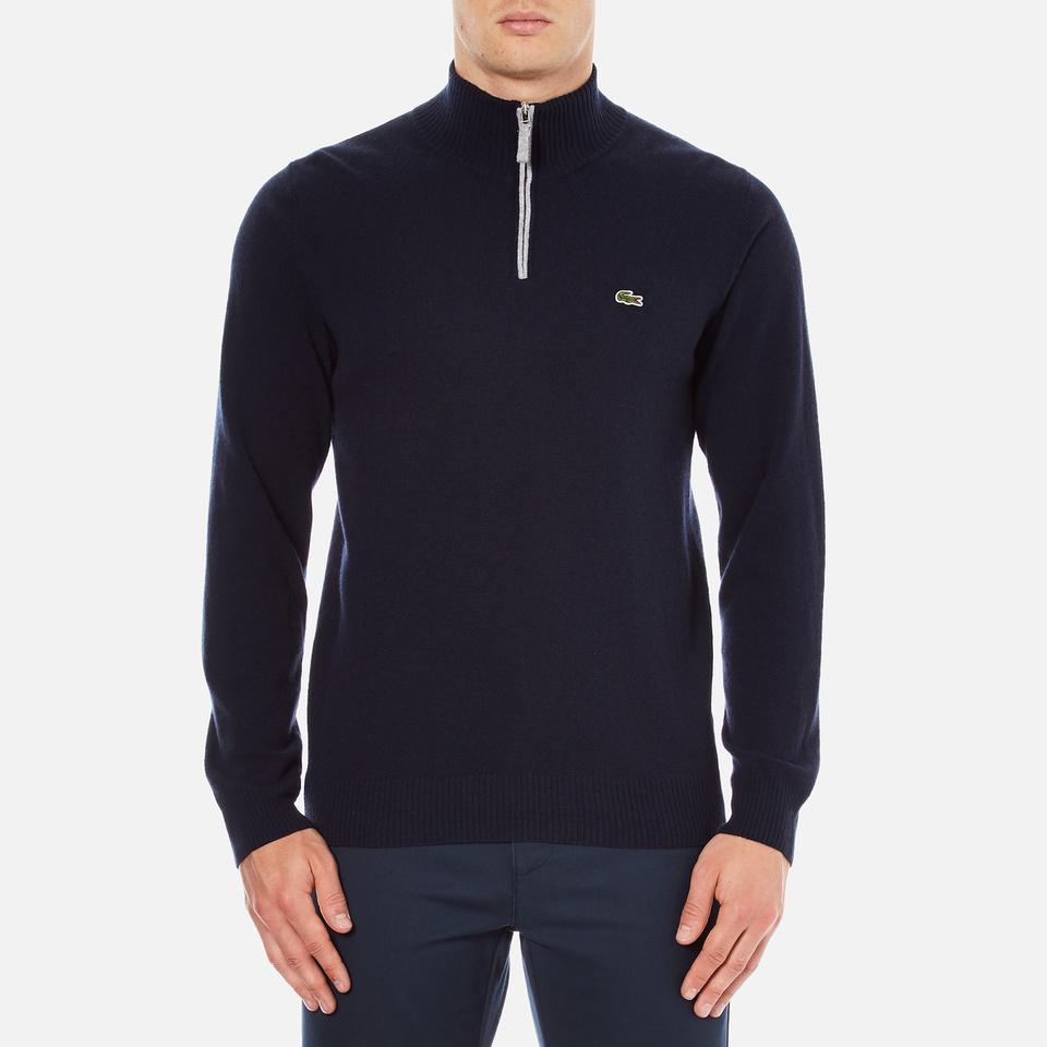 lacoste-men-half-zip-funnel-neck-sweatshirt-navy-bluesilver-chine-4m-blue
