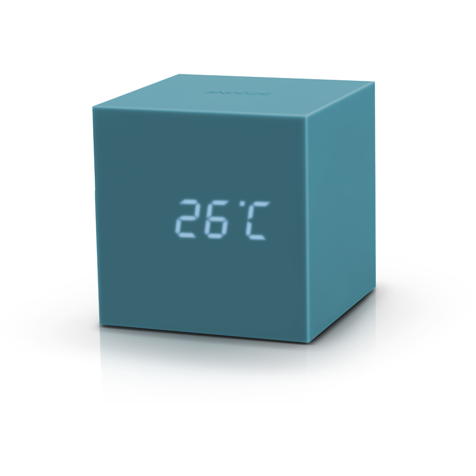 gingko-gravity-cube-click-clock-teal