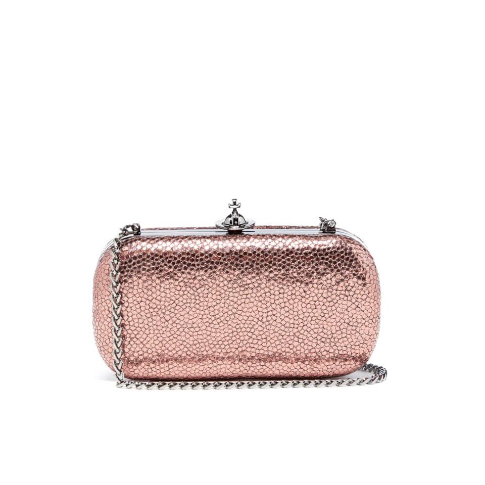 Vivienne Westwood Womenu0026#39;s Verona Medium Clutch Bag - Pink