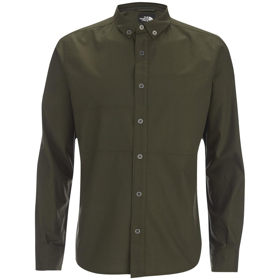 the-north-face-men-denali-long-sleeve-shirt-rosin-green-m