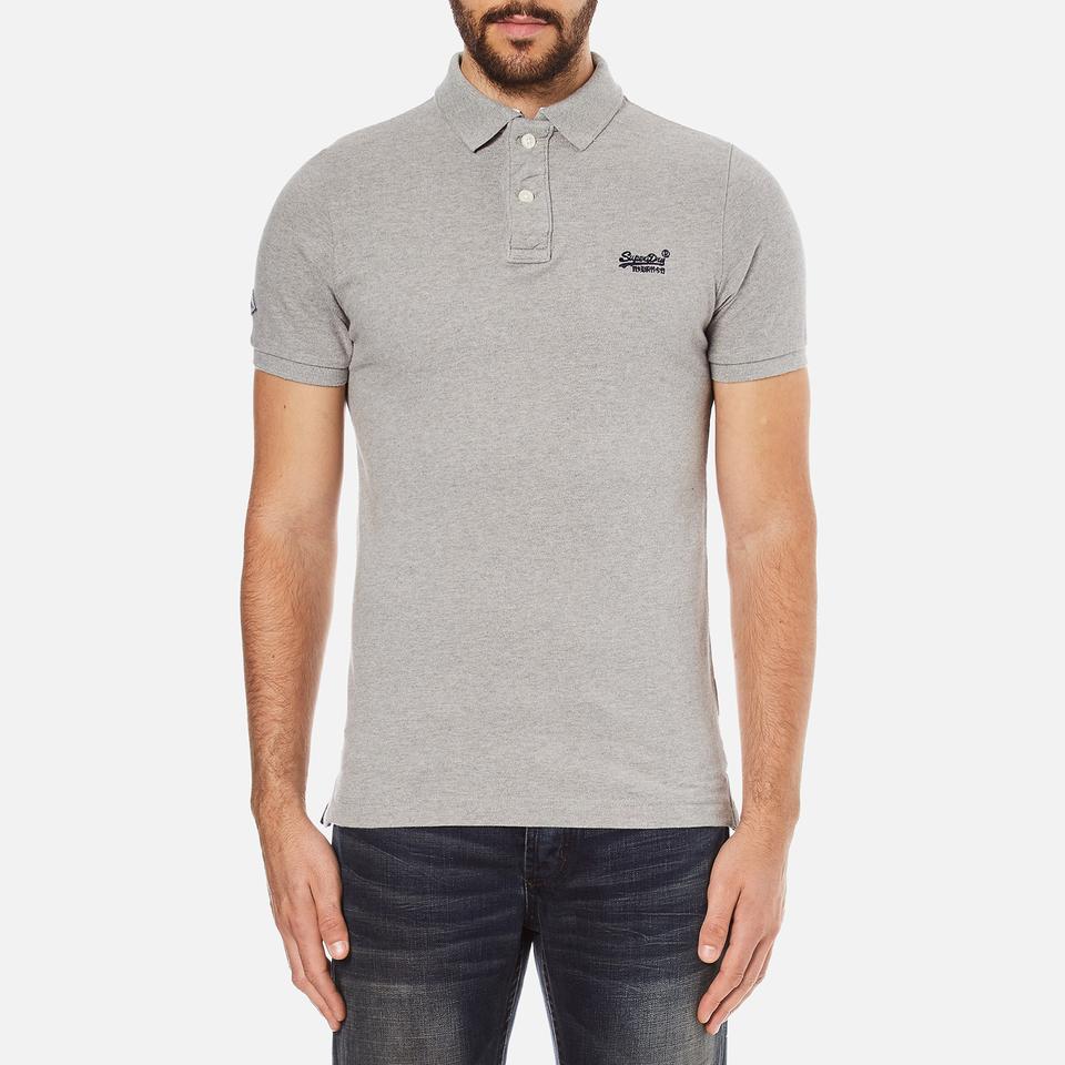 superdry-men-classic-pique-short-sleeve-polo-shirt-grey-marl-s-grey