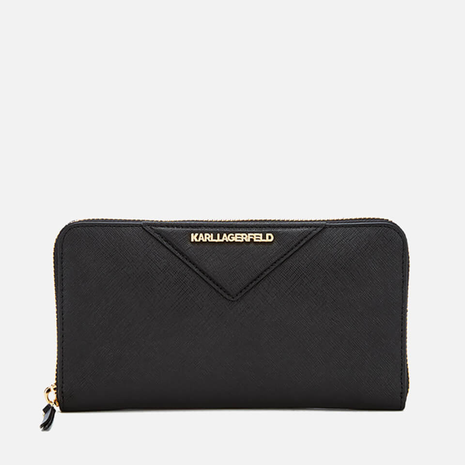karl-lagerfeld-women-k-klassik-zip-around-wallet-black
