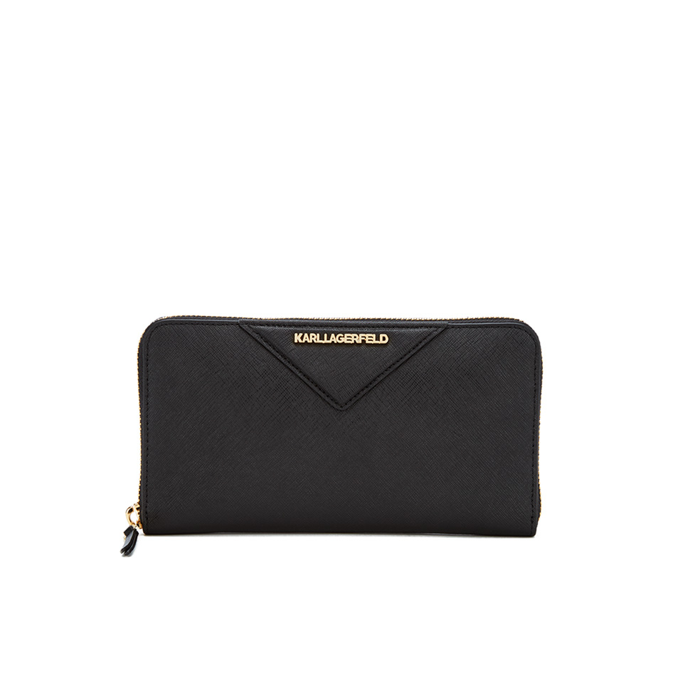 karl-lagerfeld-women-k-klassik-zip-around-wallet-black