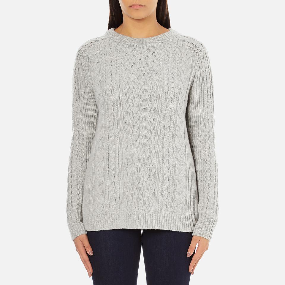 levi-women-aran-jumper-icy-grey-heather-m
