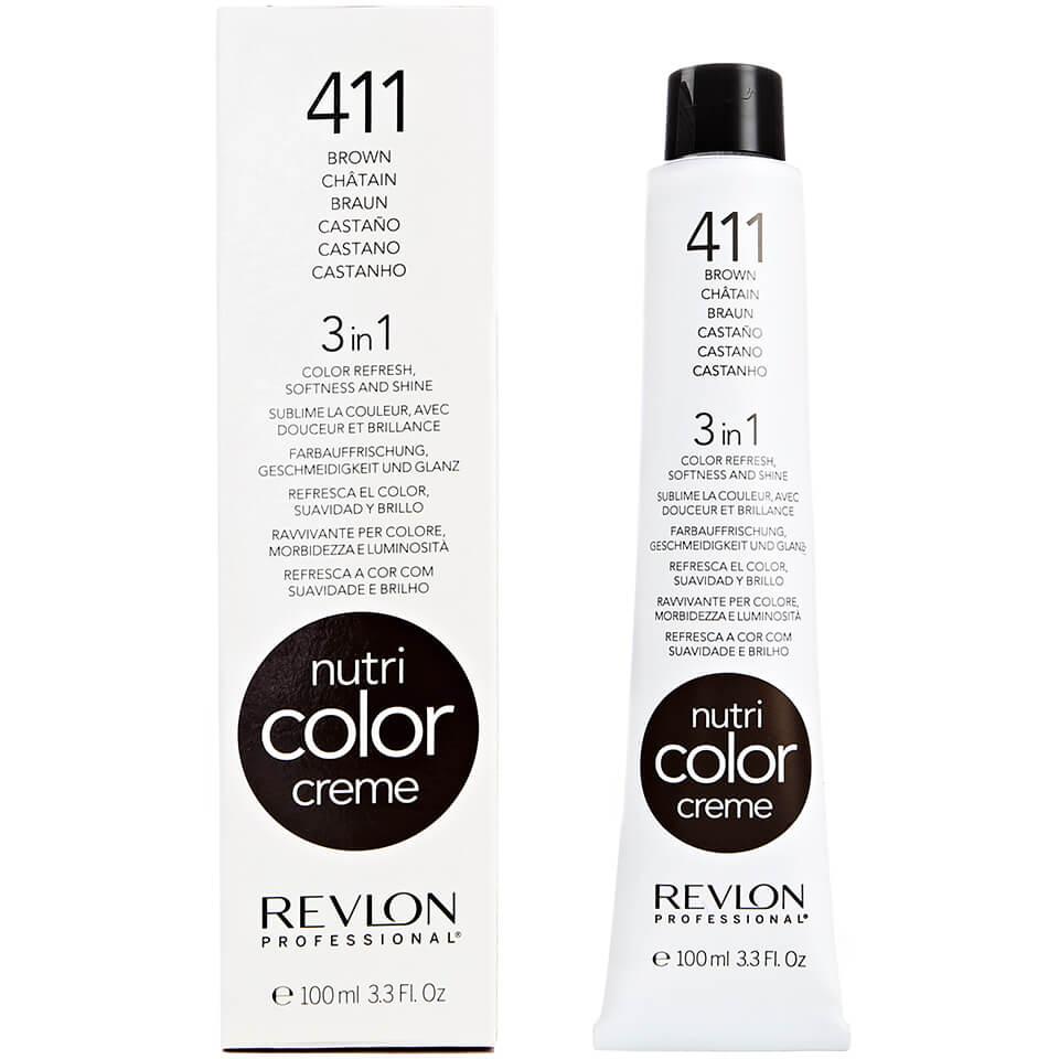 Nutri Color Crème Revlon Professional 411Cold Brown Froid100 ml