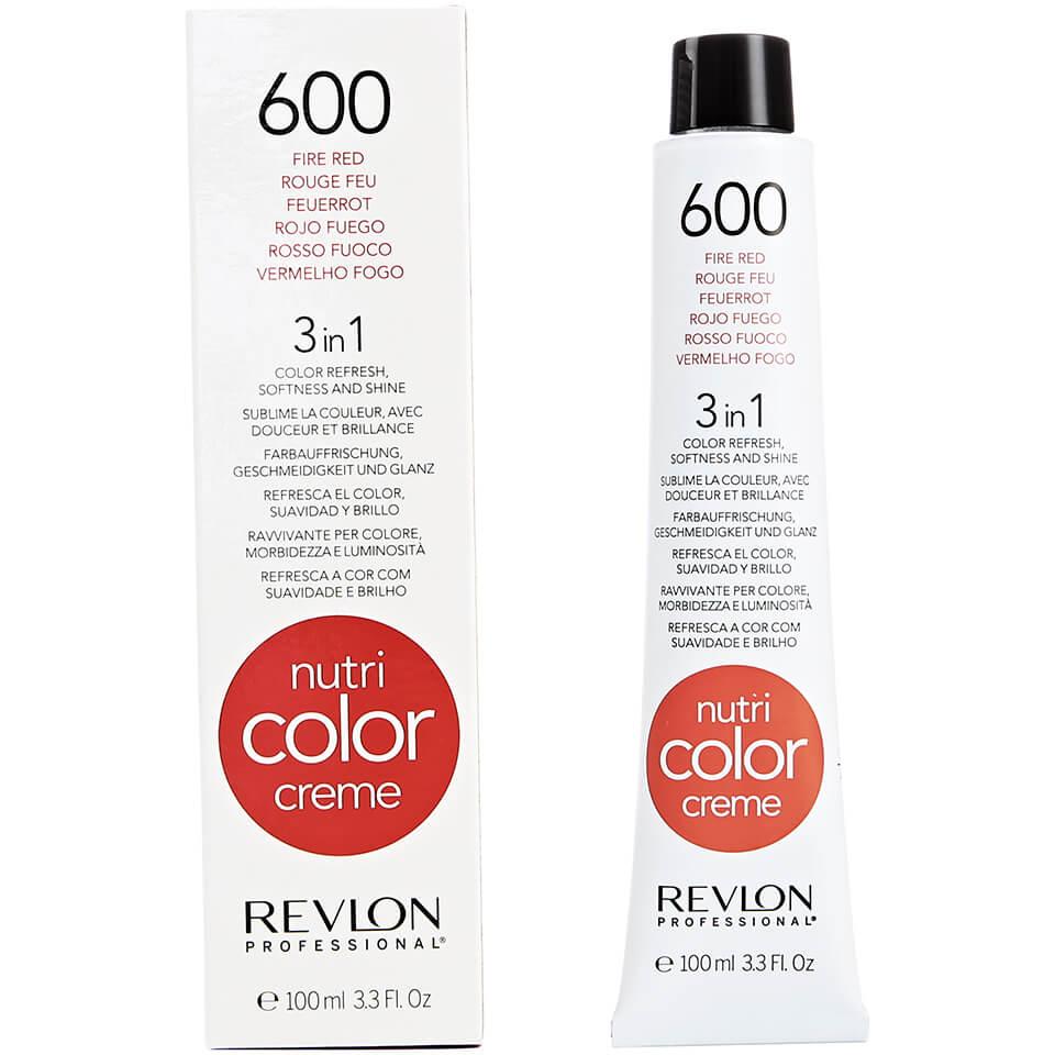 Nutri Color Crème Revlon Professional 600Fire Red100 ml