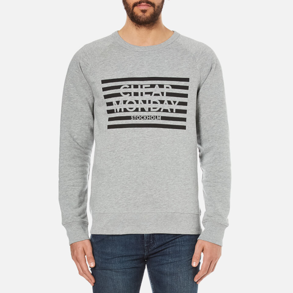 cheap-monday-men-rules-striped-logo-sweatshirt-grey-melange-s-grey
