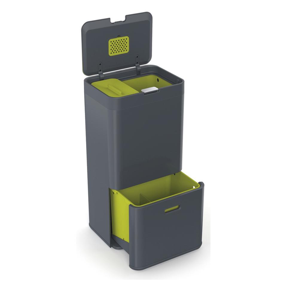 joseph-joseph-intelligent-waste-totem-60l-grey