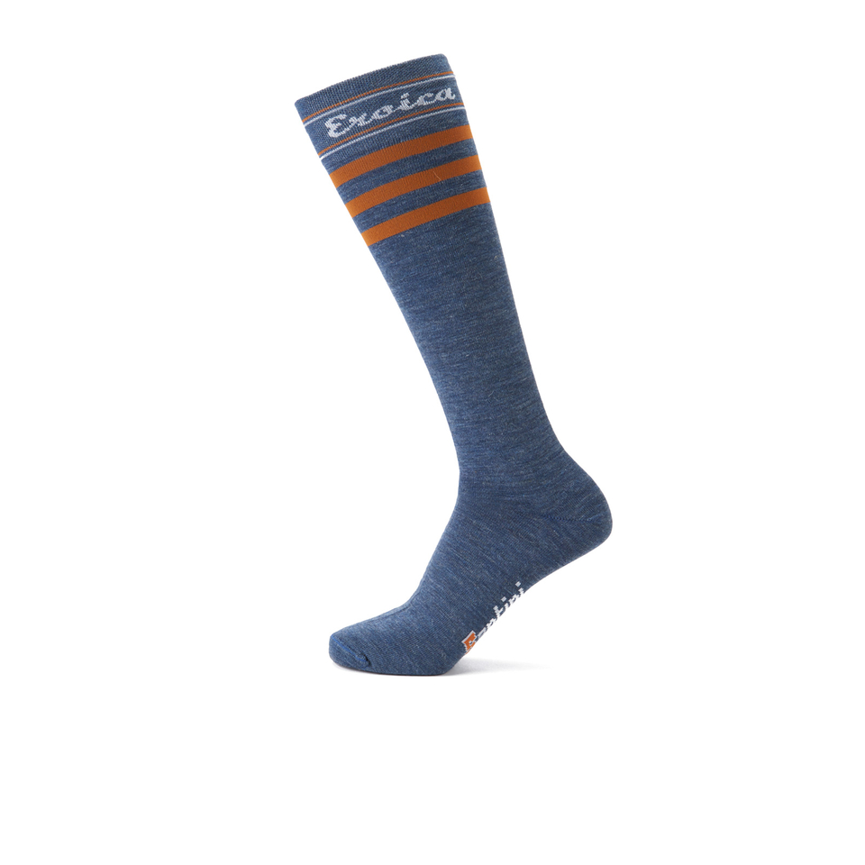santini-hispania-eroica-high-profile-wool-socks-grey-ml