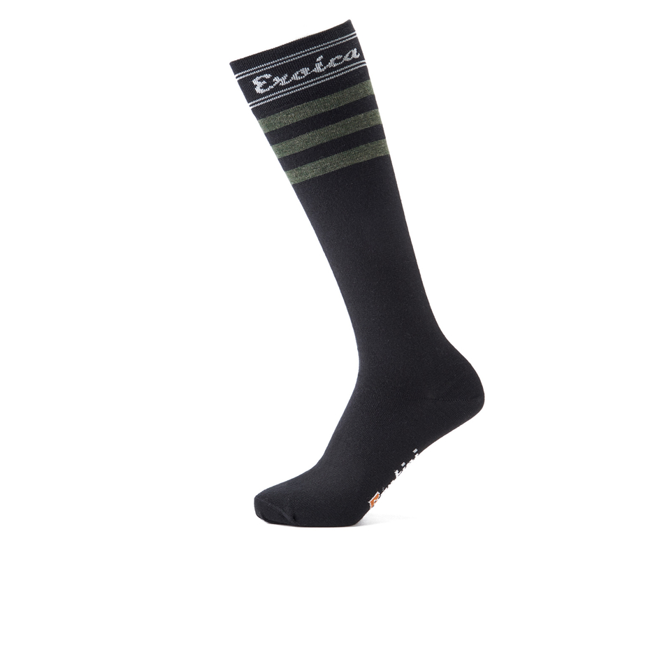 santini-britannia-eroica-high-profile-wool-socks-green-ml