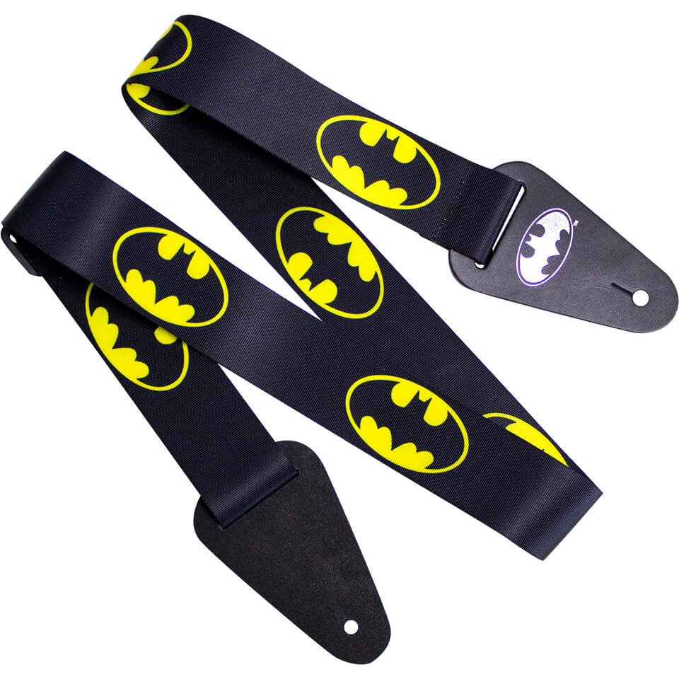 batman-logo-fabric-guitar-strap