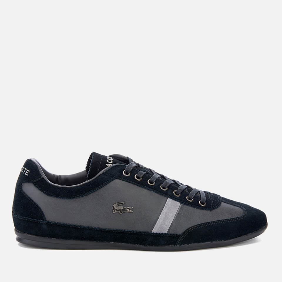 ebc69fcc9eedd9 Lacoste Men s Misano 22 LCR SRM Trainers - Black - Free UK Delivery ...