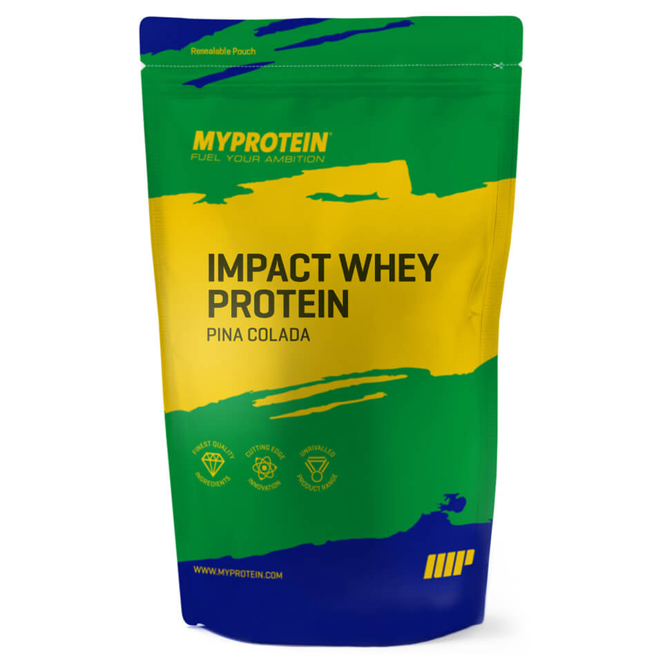 Foto Limited Edition Impact Whey Protein, Pina Colada, 1kg Myprotein