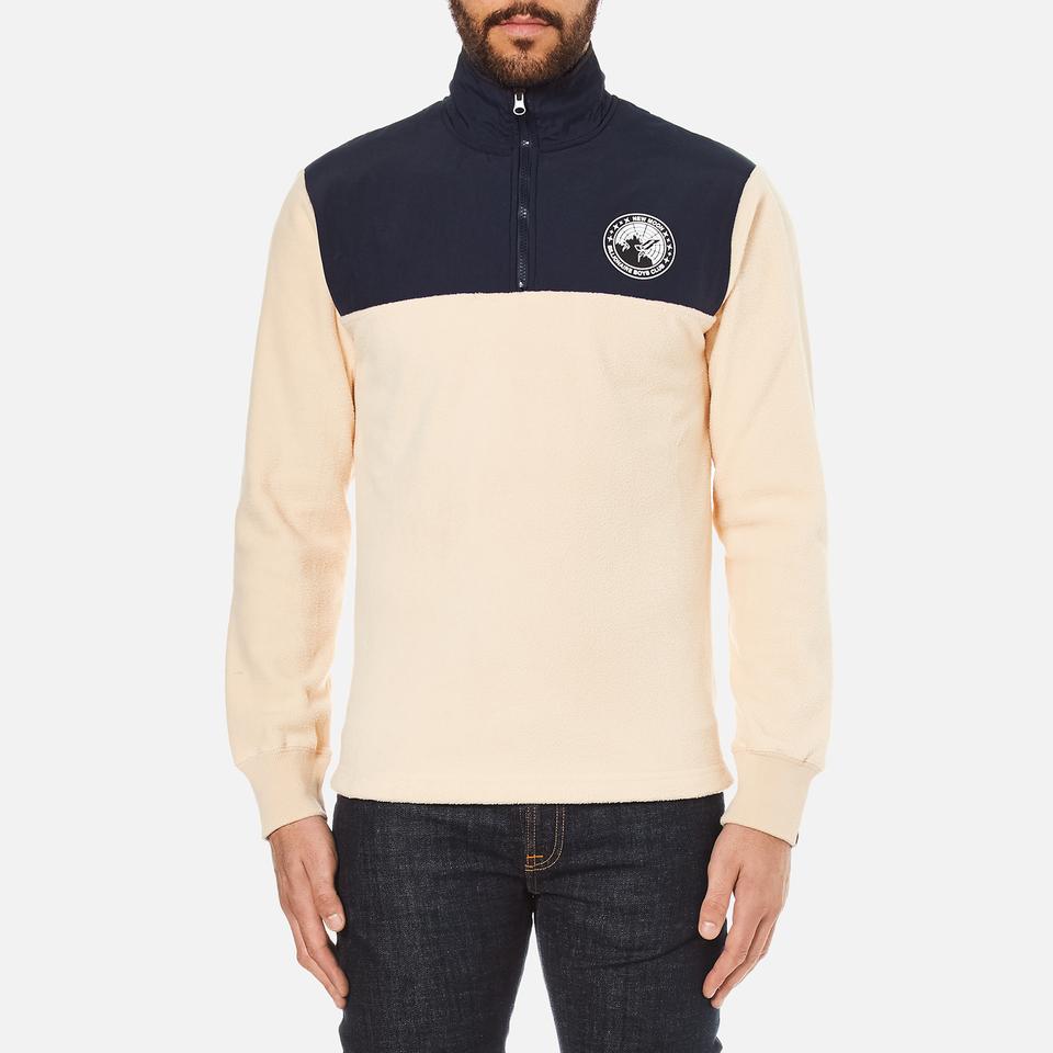 billionaire-boys-club-men-half-zip-funnel-sweatshirt-beige-navy-xxl