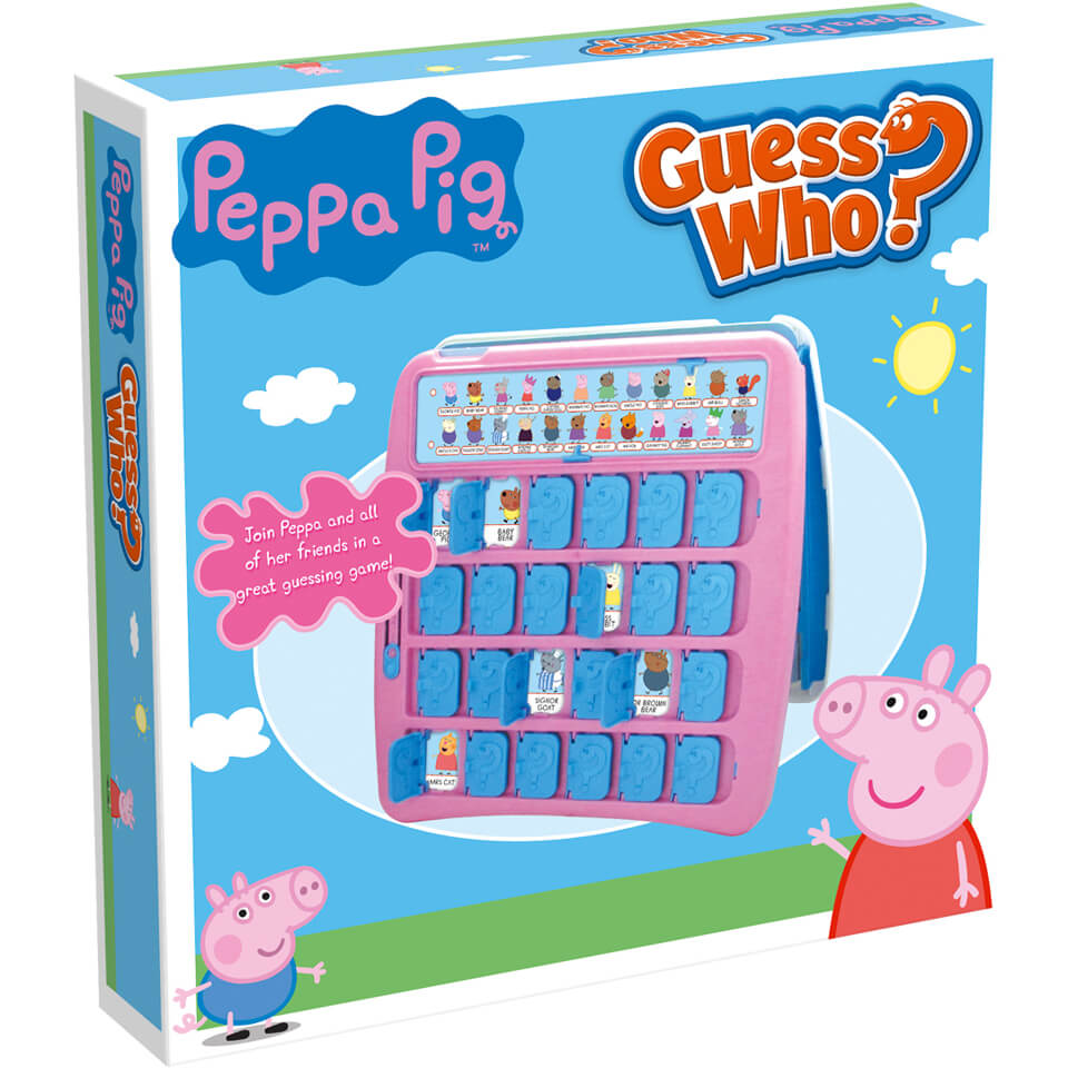Image of Guess Who? Board Game - Peppa Pig Edition