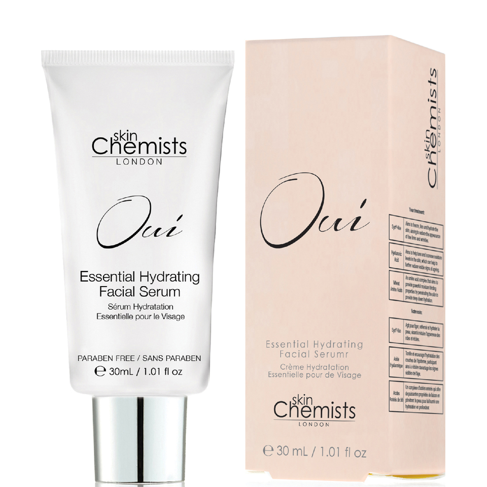skinChemists Oui Essential Hydrating Facial Serum 30ml