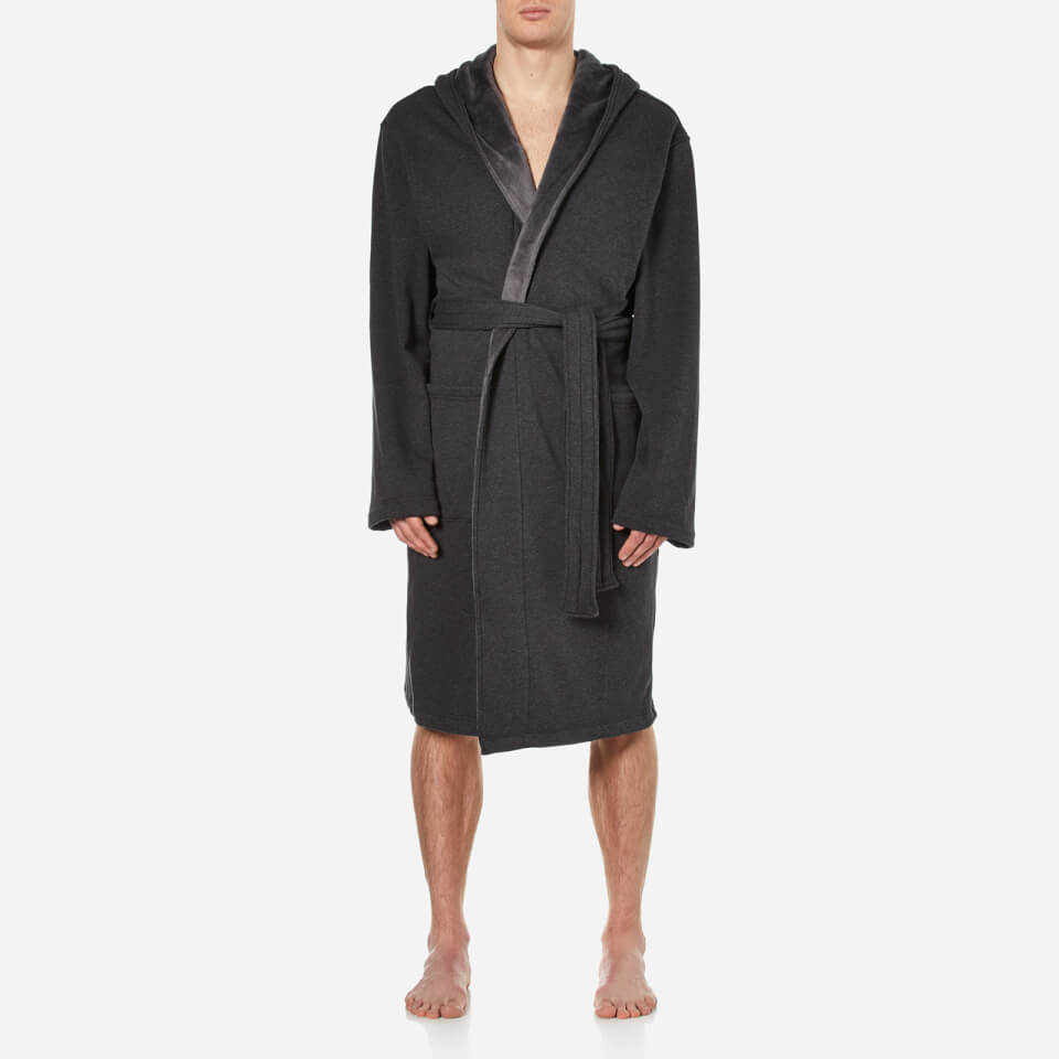 Mens dressing gown. This lightweight and comfortable dressing gown is This lightweight and comfortable dressing gown is Forex Mens Classic Bathrobe Lounge Wear Cotton Dressing Gown Long Length Warm Robe.