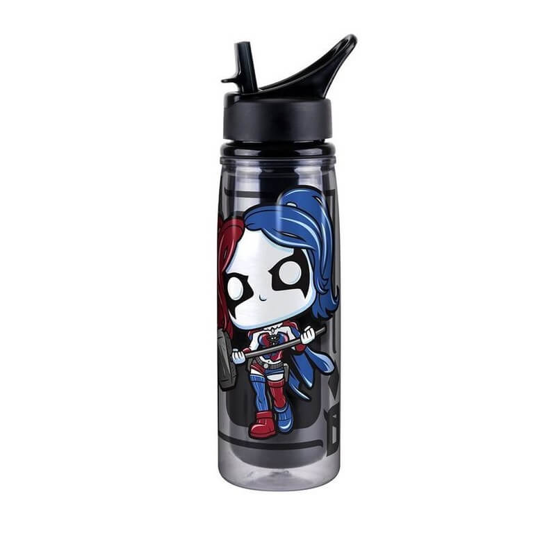 DC Comics Harley Quinn Pop! Home Acrylic Water Bottle