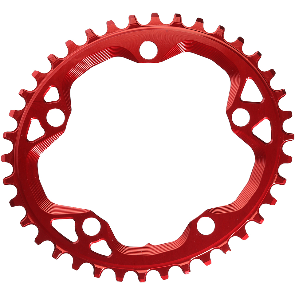 absoluteblack-cx-110bcd-5-bolt-spider-mount-oval-chain-ring-38t-red