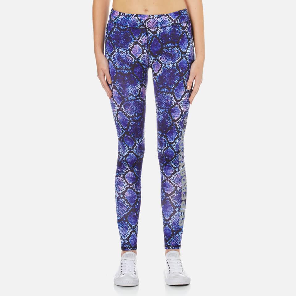 superdry-women-core-gym-leggings-purple-python-xs