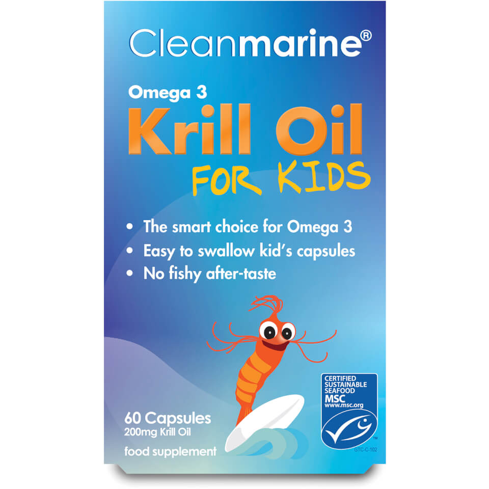 cleanmarine-krill-oil-for-kids-60-gel-capsules-200mg