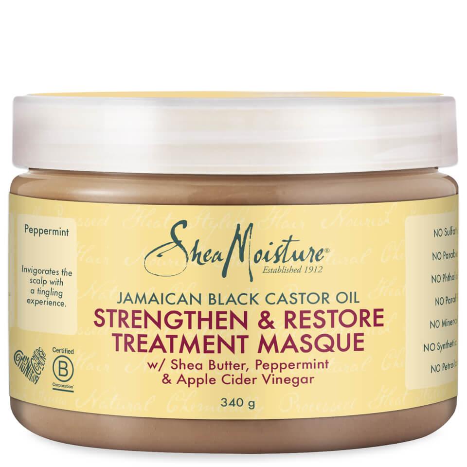 Shea Moisture Jamaican Black CastorOil Strengthen, Grow &Restore Treatment Masque