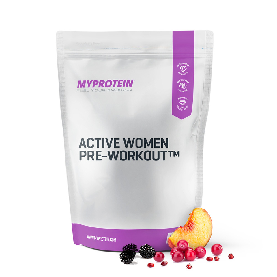 Foto Active Woman Pre-Workout - Cranberry & Pomegranate - 1kg Myprotein Nutrizione sportiva