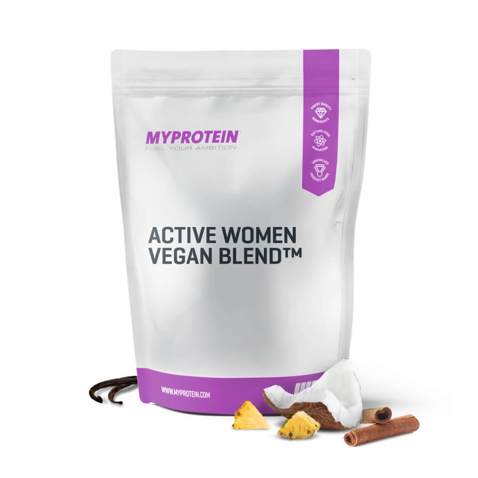 active-women-vegan-blend-1kg-pouch-banana-cinnamon