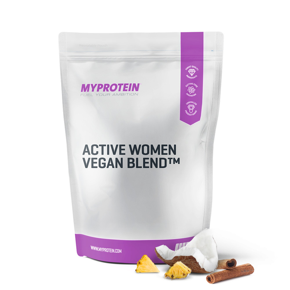 active-woman-vegan-blend-pineapple-coconut-500g
