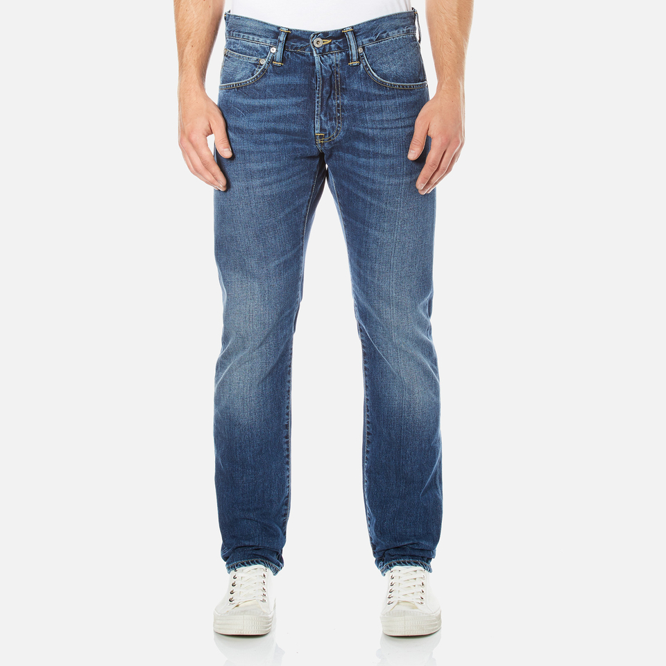 Edwin Men S Ed 55 Regular Tapered Jeans Savage Wash Mens
