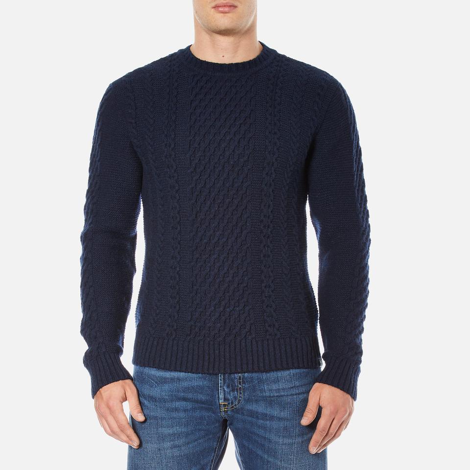 Edwin Mens United Sweatshirt Navy Xl