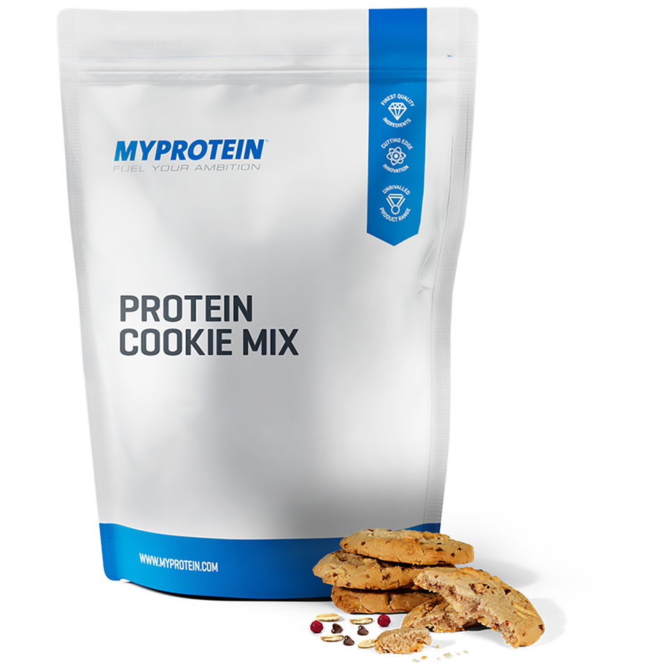 Foto Protein Cookie Mix - White Chocolate & Raspberry - 400g Myprotein Nutrizione sportiva