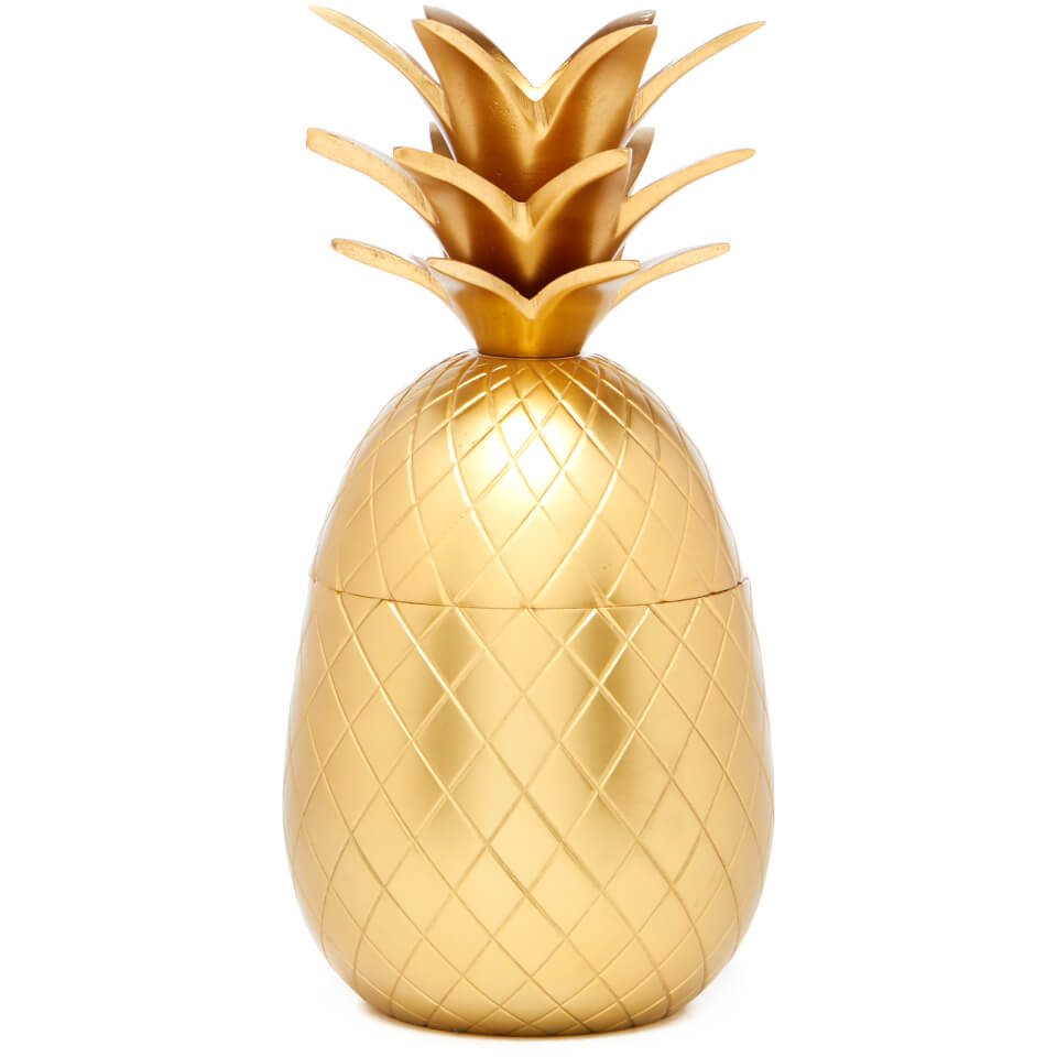 pineapple-ice-bucket-storage-pot-matt-brass