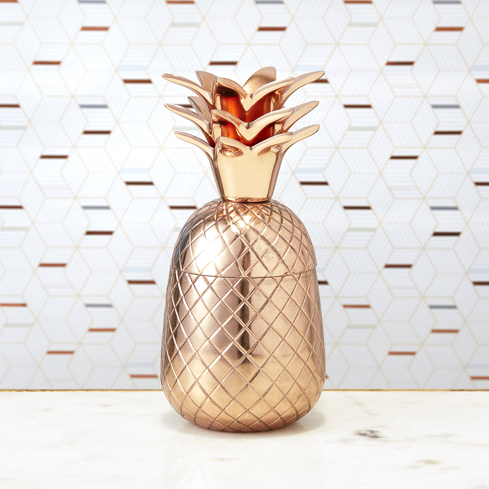 pineapple-ice-bucket-storage-pot-copper
