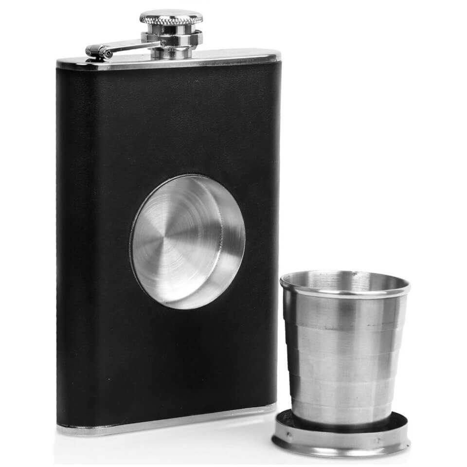 hunters-stainless-steel-hip-flask-shot-glass