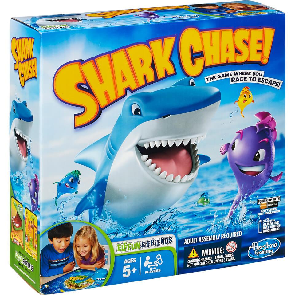 shark-chase