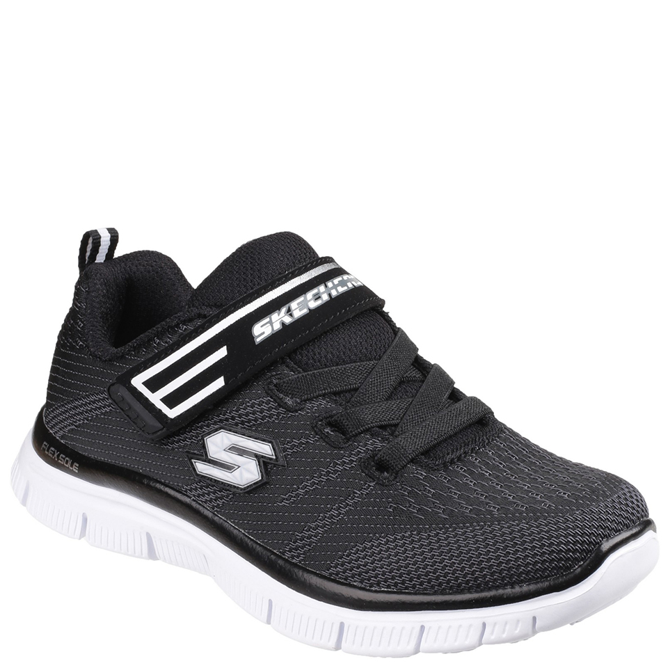skechers-kids-flex-advantage-trainers-black-11-kids