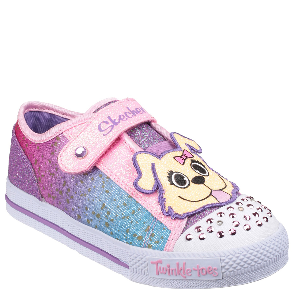 skechers-toddlers-twinkle-toes-shuffles-trainers-multi-45-toddler