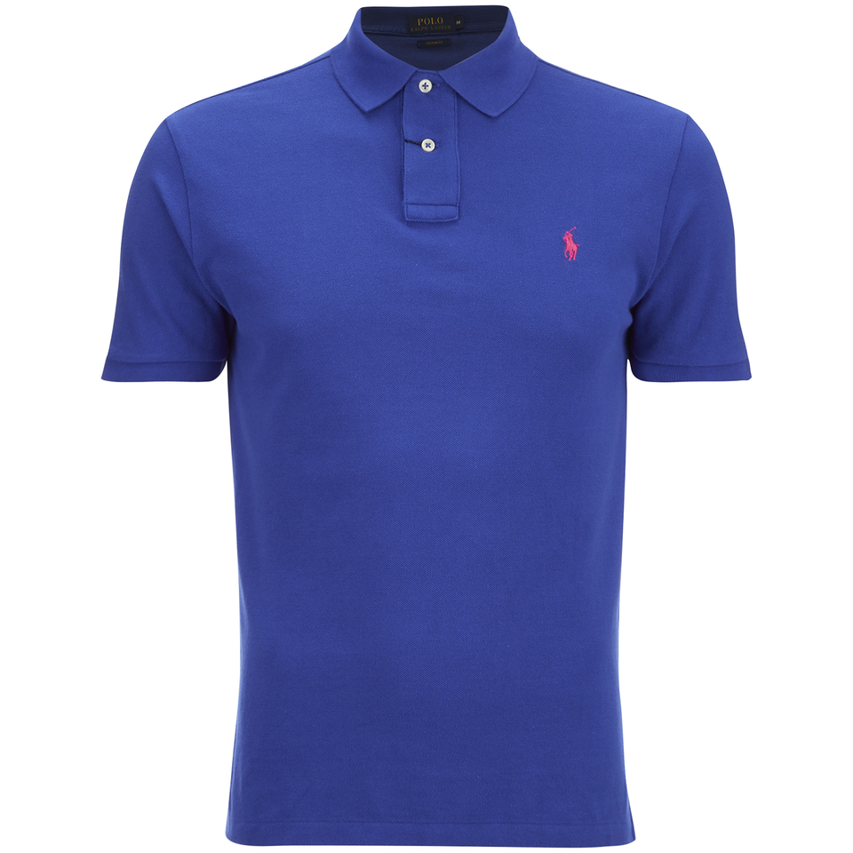 Polo ralph lauren men 39 s custom fit polo shirt bright for Custom polo shirts canada