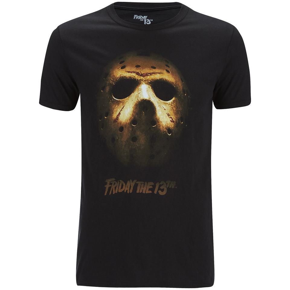 Friday The 13th Men 39 S Mask T Shirt Black Merchandise Zavvi