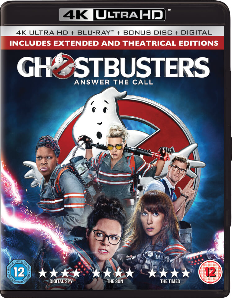 ghostbusters 2 disc 4k ultra hd blu ray blu ray. Black Bedroom Furniture Sets. Home Design Ideas