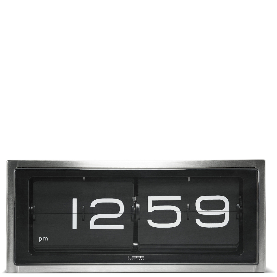 leff-amsterdam-brick-wall-desk-clock-stainless-steel