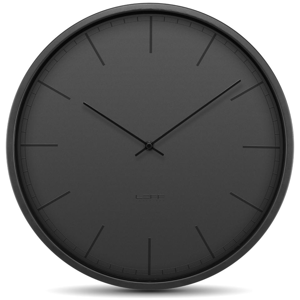 leff-amsterdam-tone-wall-clock-35cm-black