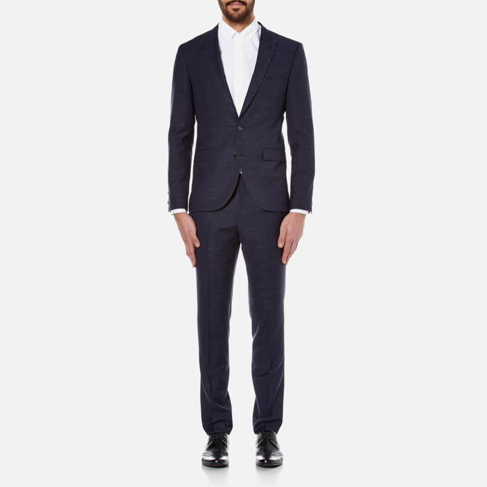 Hugo Mens Astor/hends Wool Suit Navy Xl/eu 52